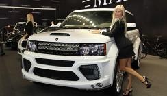 Автомобили и девушки Московского Автосалона 2012