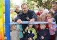 Открытие детской площадки в Калуге