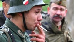 В минувшие выходные русские бились с немцами