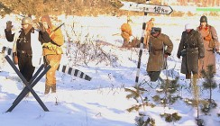 В Калуге прошла реконструкция боёв 1941 года