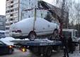 В Калуге будут переставлять заснеженные автомобили