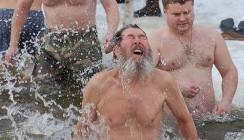Крещение в Калуге: все в прорубь!
