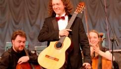 Открытие фестиваля «Мир гитары» прошло под хиты «Нирваны»