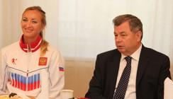 Анатолий Артамонов встретился с призерами Всемирной Универсиады