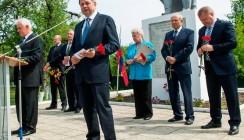 В Калужской области установили памятник педагогу-фронтовику