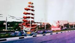 На въезде в Калугу установят корабль
