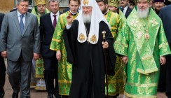 Патриарх Кирилл побывал в Калуге
