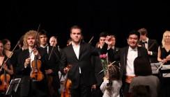 Молодежный симфонический оркестр дебютировал в родном городе