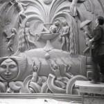 керамический рельеф