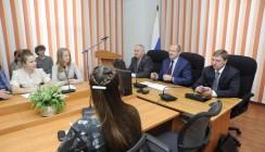 Министр образования и науки области встретился с будущими педагогами