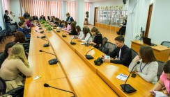 Николай Любимов встретился со школьниками из районов