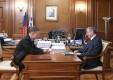 Анатолий Артамонов встретился с председателем Правления ОАО «Газпром» Алексеем Миллером