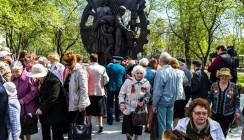 В сквере Воронина новый памятник