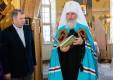В верхнем храме Владимирского скита села Льва Толстого прошла первая Божественная литургия
