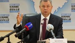 Анатолий Артамонов возглавляет рейтинг глав российских регионов