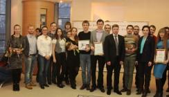 В Калуге наградили молодых предпринимателей