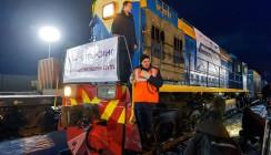 В Калужскую область прибыл поезд из Китая