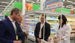 Калужане дегустировали местные продукты в «ЛЕНТЕ»