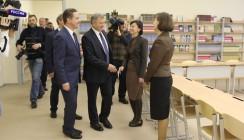 В Калуге открылась самая большая школа в России