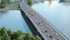 Строительство моста в Нагатинской пойме застраховано в ВТБ Страхование