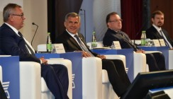 Глава ВТБ встретился с Президентом Республики Татарстан Рустамом Миннихановым в Казани