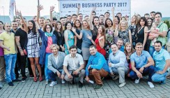 Summer business party