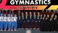 Банк ВТБ поздравляет российскую сборную по спортивной гимнастике